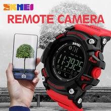 SKMEI Smart Watches Men Sports Digital Bluetooth Watch Sleep Tracker Call Reminder Wristwatches EL Light Relogio Masculino 1227