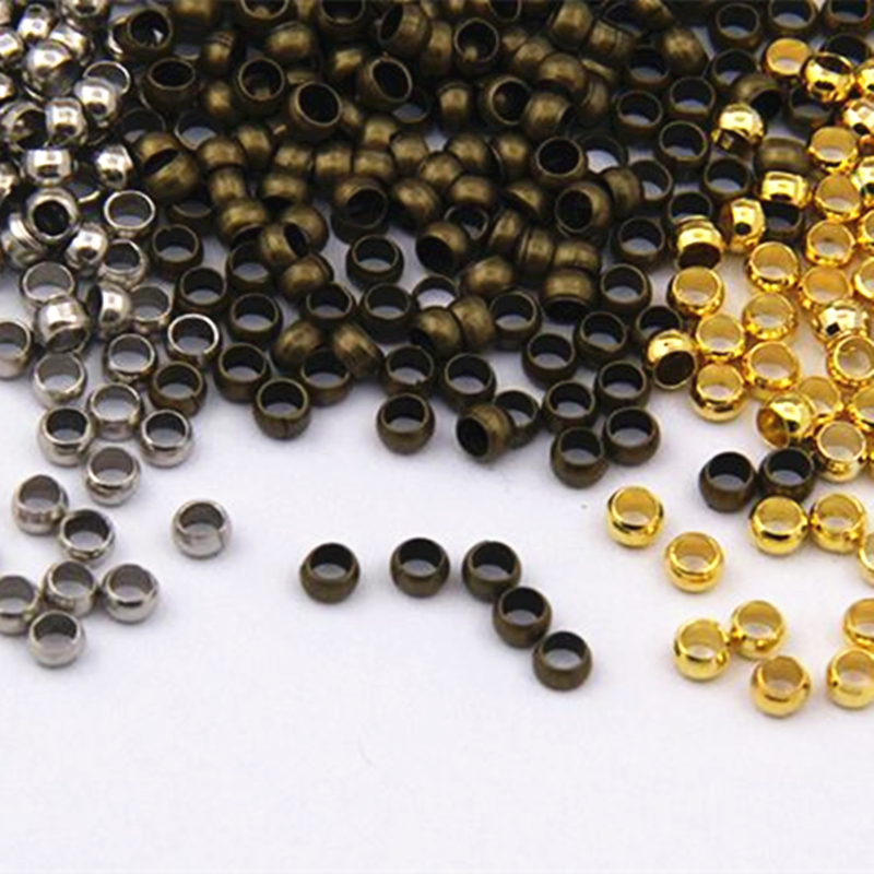 2 5 Mm Earrings: Crimp End Beads 300pcs 2.5 Mm Jewelry Clasp Jewelry