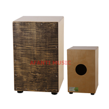 Afanti Music Birch Wood / Natural Cajon Drum (KHG-150)