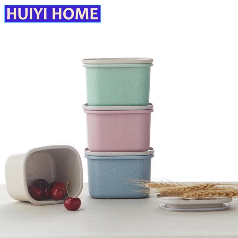 Huiyi дома Еда герметичные Коробки тесто снэк-хранения бутылки хранения зерна jar Кухня Организатор egh019