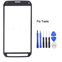 LOVAIN 1PCS Genuine Original For Samsung Galaxy S5 Active G870 G870A Front Glass Lens 5 1