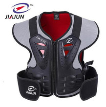 JIAJUN Childrens Professional Vests Outdoor Sports Motocross Ski Back Support Kids Protective Gear