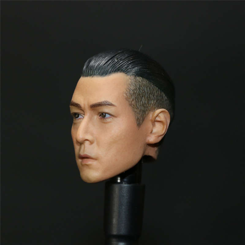 Mnotht Head Sculpt 1/6th Action Figure Overheard Joe Szema Head Sculpt Daniel Wu Headplay For 12in Figures Toys L30 mnotht 1 6 male solider new clown head carving mj12 top edition heath ledger head sculpt for 12in action figures l30