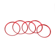 Car Styling Air Condition Air Vent Outlet Ring Cover Trim for Mercedes Benz CLA C117 CLA180 CLA200 CLA250 X156 GLA GLA200 GLA220