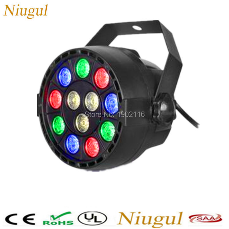 Flat led par stage light/rgbw 12x3W disco party lights/DMX512 luz Dj effect controller/Dj Equipment projector/luces discoteca flat led par stage light rgbw 12x3w disco party lights laser dmx luz dj effect controller dj equipment projector luces discoteca