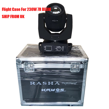 2X EU Stock Beam 230W 7R Moving Head Light/ Beam 200 Beam 5R With 2in1 Flight Case DMX Stage Event Productions