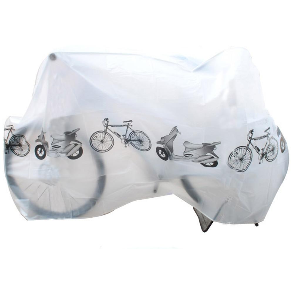 Motocicleta de la bici lluvia cubierta de polvo a prueba de agua al aire libre hoverboard scooter protector Gray para bicicleta Bicicletas Ciclismo nieve polvo