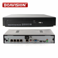 4CH 48V POE NVR With HDMI Support P2P Cloud ONVIF Network Recorder 5MP 3MP 2MP Multiple
