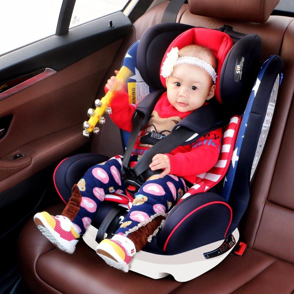 Livraison gratuite de l'ue! Siège de sécurité voiture enfant ISOFIX 0-6 ans sécurité infantile voiture bébé nouveau-né Installation bidirectionnelle sièges de sécurité - 3