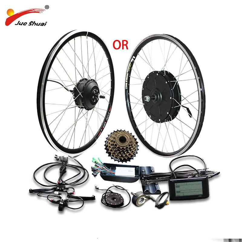 48 V 500 W 1000 W vélo électrique Kit de Conversion pour 20