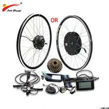 48 V 500 W 1000 W электрический велосипед конверсионный Комплект для 20 «26» 700C (28 «) задний мотор колеса e велосипед электрический велосипед комплект bicicleta electrica