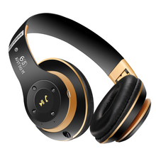 Wireless Headphones Bluetooth 4.0 Stereo Folding Headsets with Mic Support TF SD Card Bass Smart Headphone for mobile