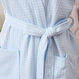 Image 5 - Nuove Donne di Estate Asciugamano Kimono Accappatoio Damigella Donore Vestaglie Femme Sexy Cialda Accappatoio Vestaglia Vestaglia Da Cerimonia Nuziale Della Sposa