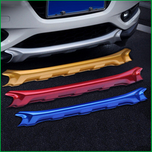 цена на Car-styling Front Plus Rear Body Bumper protection Trim For Honda HR-V HRV 2014 2015 2016 Car Fender Guard Bumper Cover Trim