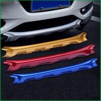 Car styling Front Plus Rear Body Bumper protection Trim For Honda HR V HRV 2014 2015 2016 Car Fender Guard Bumper Cover Trim