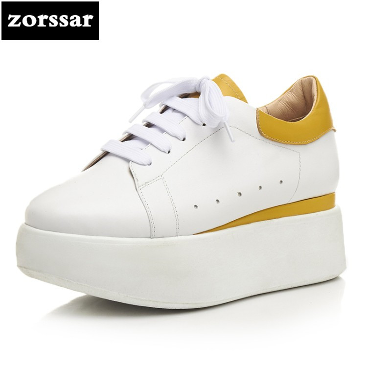 {Zorssar} Brand 2018 Spring New fashion Women sneakers Casual Flats shoes Comfortable flat heel Shoes female platform shoes minika new arrival 2017 casual shoes women multicolor optional comfortable women flat shoes fashion patchwork platform shoes