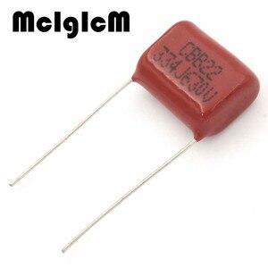 Image 2 - MCIGICM 1000 pcs 334 330nF 630V CBB Polypropylene film capacitor pitch 15mm 334 330nF 630V