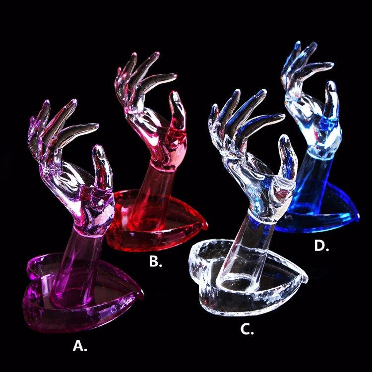 1 шт. гибкий акриловый флективный Манекен Модель живопись практика ногтевого искусства поддельные OK рука для обучения дизайна ногтей может