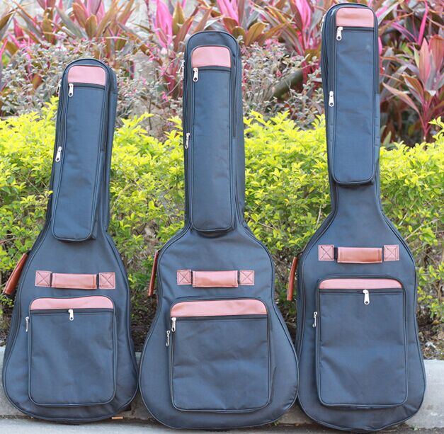 Waterproof Acoustic Electric Guitar Bass 40 41 Inch Steel-String Classical  Bag Case Backpack Guitarra Parts Carry Gig Carry two way regulating lever acoustic classical electric guitar neck truss rod adjustment core guitar parts