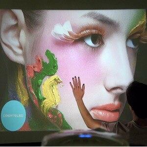 Image 3 - Портативный проектор CRENOVA XPE498 для домашнего кинотеатра, Android 7.1.2