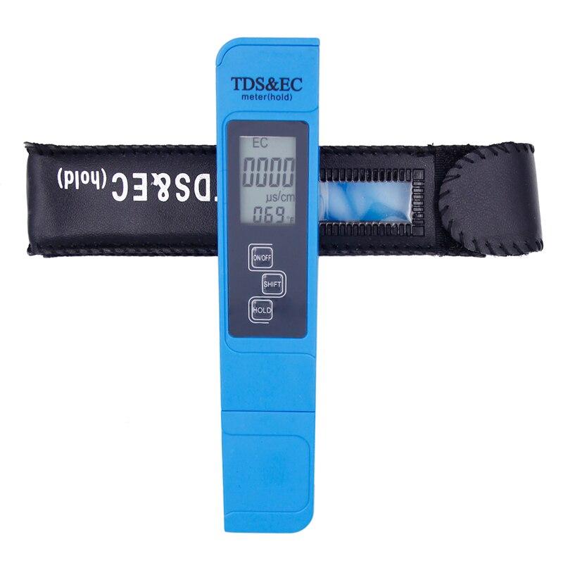 TDS Mètre ce Température Testeur stylo 3 In1 Fonction Conductivité Mesure de Qualité de L'eau TDS et CE Testeur 0-9000ppm 20% Off