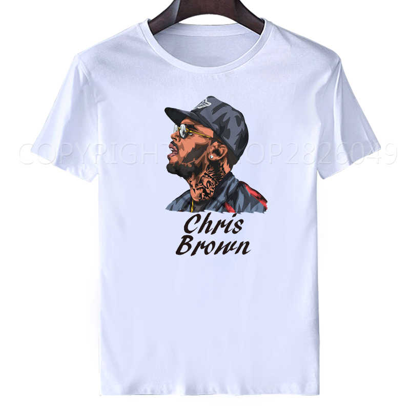 chris brown tshirts men Print crew neck sweatshirt tops tees Frank Ocean Blonde men's t-shirt casual women 2pac tupac streetwear