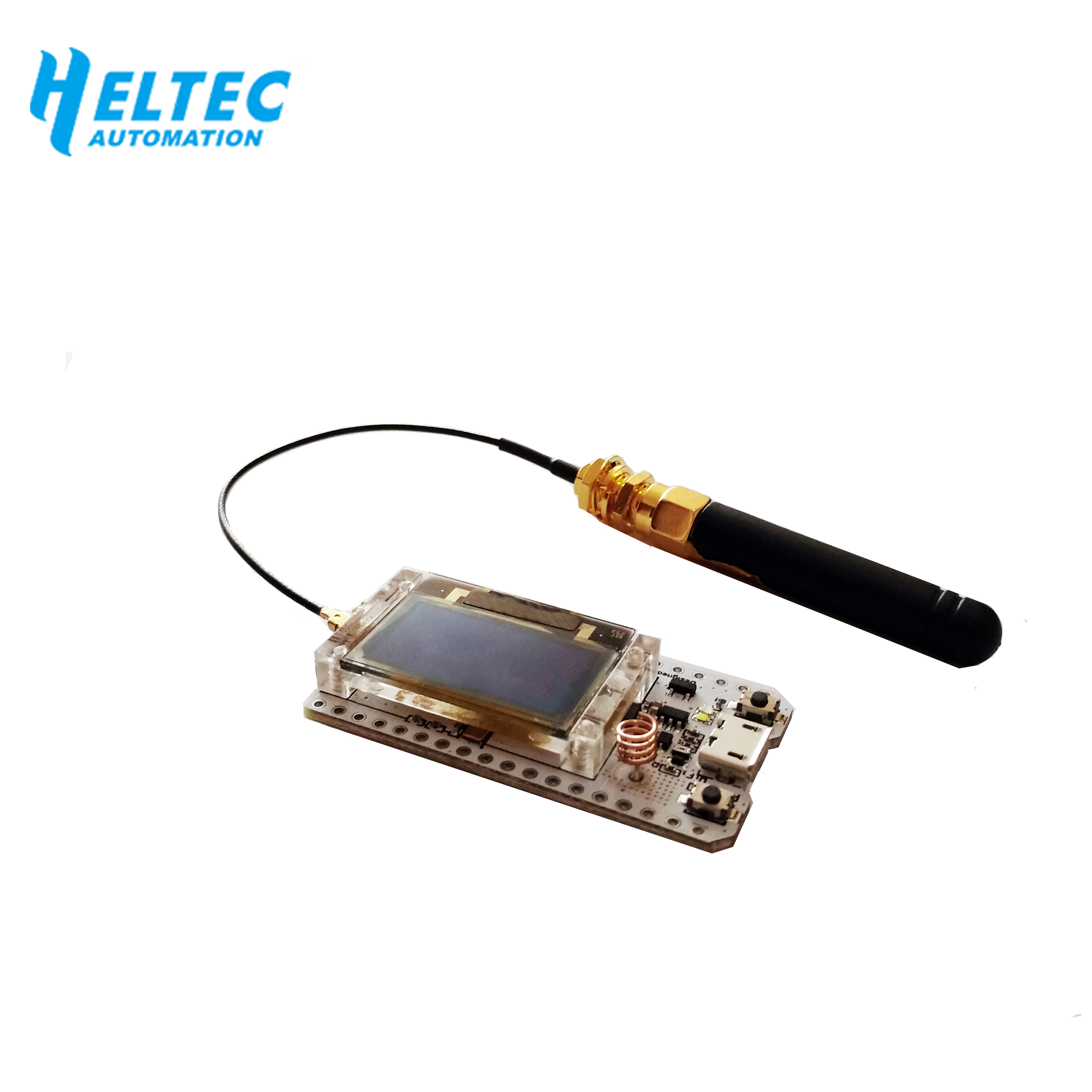 Image 4 - 2PCS IOT 868MHz 915MHz SX1276 ESP32 LoRa 0.96 Inch Blue OLED Display Bluetooth WIFI Lora Kit 32 V2 Development Board for Arduino-in Home Automation Modules from Consumer Electronics