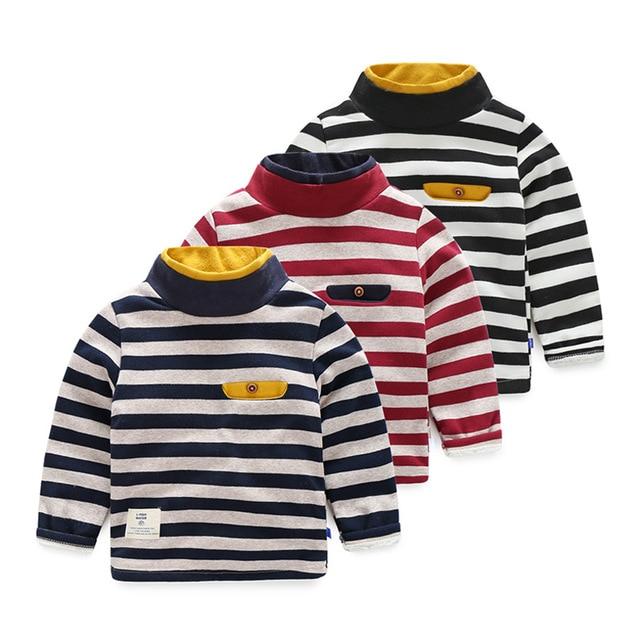 детей одежду мальчиков футболка с рукавом дети длинные рукава шерсть полосатый малыш теплая зима футболку детской миньон наряды детские футболки рубашка майка одежда для девочки мальчика девочек рождество миньоны