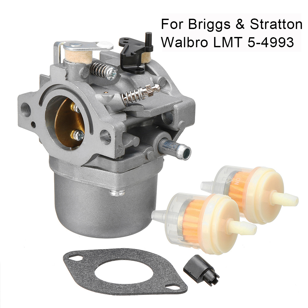 Carburetor for Briggs & Stratton Walbro LMT 5-4993 with Mounting Gasket Filter Auto Fuel Supply System Parts Carburetor купить недорого в Москве