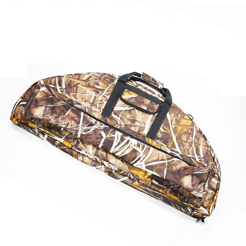 2018 New 115 95 cm Archery Bow Bag Soft Plush Fabric Recurve Bow Arrow Puller And