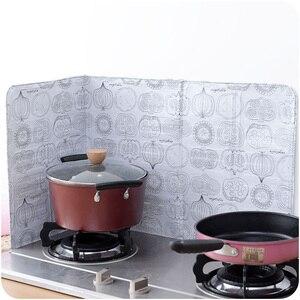 Image 4 - Protector de salpicaduras de dibujos animados, separador de aceite, herramienta deflectora a prueba de salpicaduras, para cocinar o sartén freír, pantalla protectora contra salpicaduras de aceite, tapa para cocina a Gas