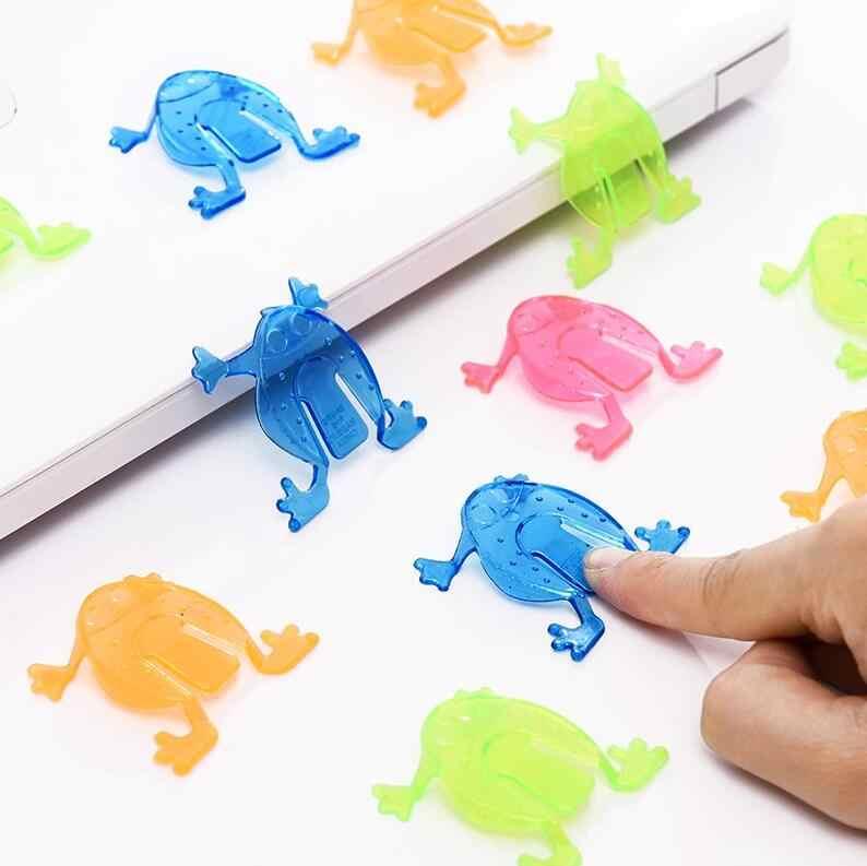 20 pçs/lote Sapos Pulando Assorted Hopper Jogo de Ação Figuras de Brinquedo Brinquedo Do Bebê Pequenos Presentes De Natal Brinquedos para Crianças Atacado GYH