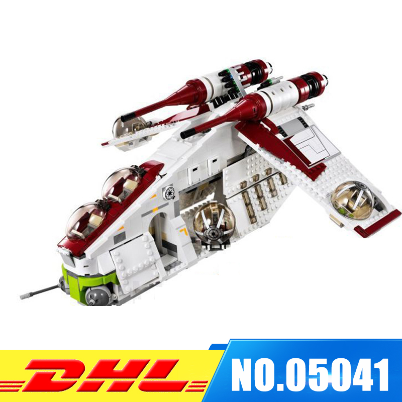 MORE STOCK New Lepin 05041 Genuine UCS Series The The Republic Gunship Set Educational Building Blocks Bricks Toys 75021