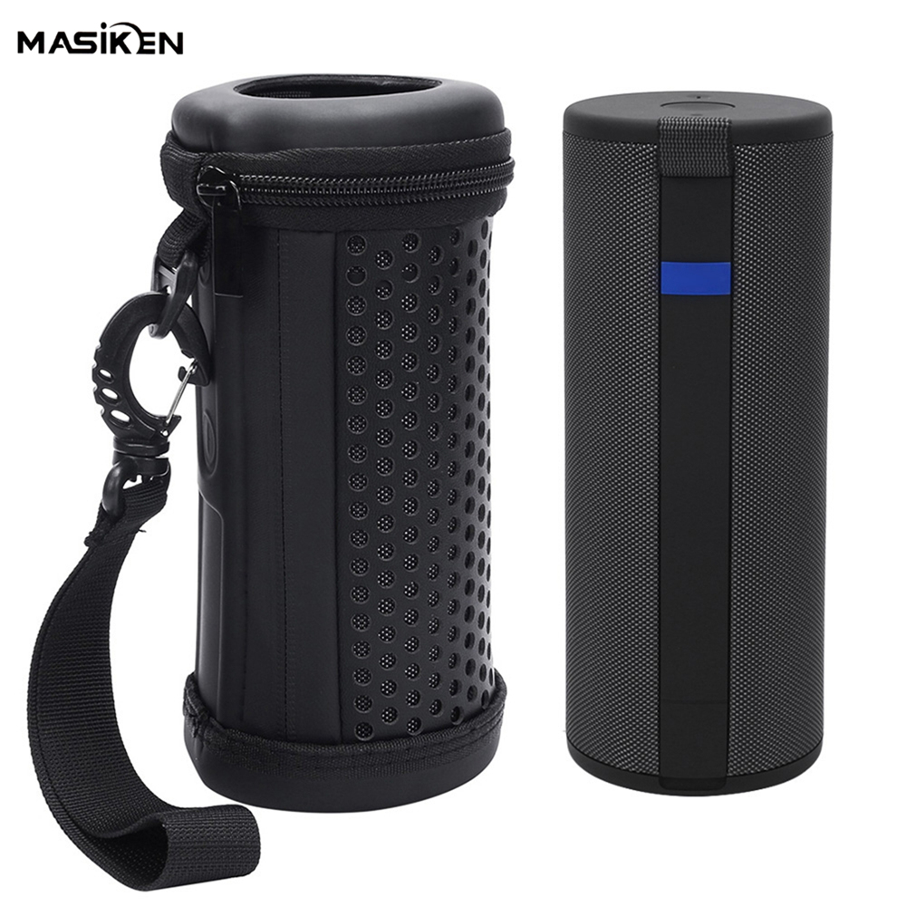 US $9 92 21% OFF|EVA +PU Leather Case Bag for Logitech Ultimate Ears UE  MEGABOOM 3 Bluetooth Wireless Speaker Protect Shell Travel Carrying Case-in