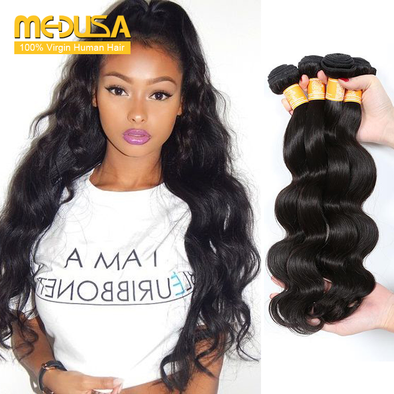 Amazing Hair Company Brazilian Body Wave 4 Bundles Gstar Wet And