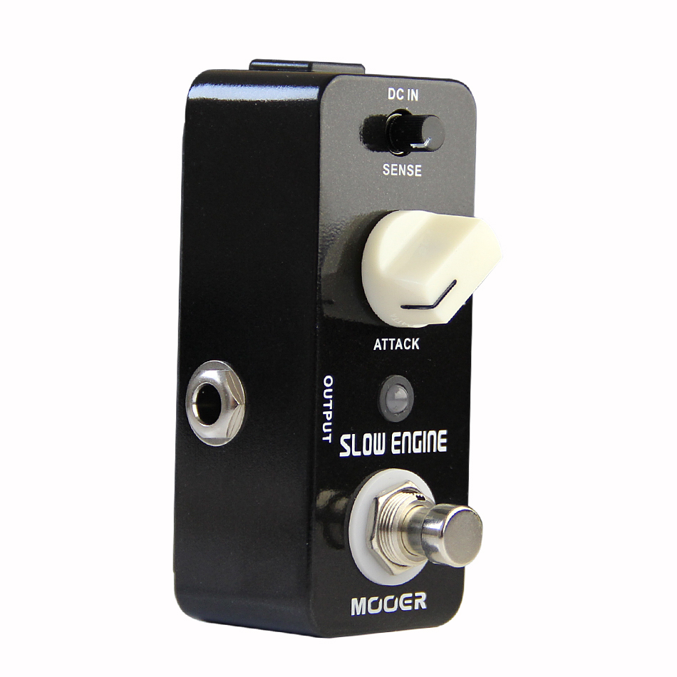 Mooer Slow Engine Guitar Effects Pedal Violin-like sound Guitar Pedal True Bypass Guitar Accessories mooer single acoustic delay chorus effects true bypass baby water effect guitar pedal