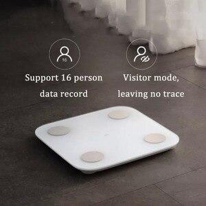 Image 5 - Весы Xiaomi Mi Body Fat Scale 2 2th XMTZC05HM, обновленный чип BIA, работа с Iphone и Android, умным телефоном, управление через приложение для фитнеса, 2019