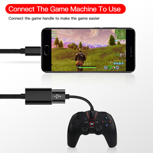 Image 4 - Type C to USB 3.0 OTG Cable USB C male to USB3.0 Female Converter USB C Data Sync Adapter Cable for Samsung Xiaomi Huawei P30