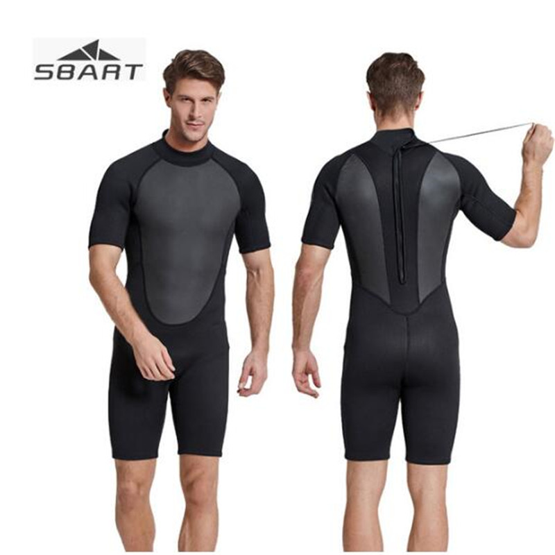 SBART 2MM Neoprene Wetsuit Men Winter Keep Warm Swimming Scuba Diving Wet Suit Wetsuit For Surf Snorkeling sbart 2mm neoprene wetsuit men winter keep warm swimming scuba diving wet suit long sleeve triathlon wetsuit for surf snorkeling