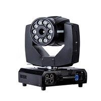 Top Quality New Arrival 10pcs 8W RGBA Quad Color LED Moving Head Fog Machine With Immediate