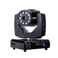 Top Quality New Arrival 10pcs 8W RGBA Quad Color LED Moving Head Fog Machine With Immediate