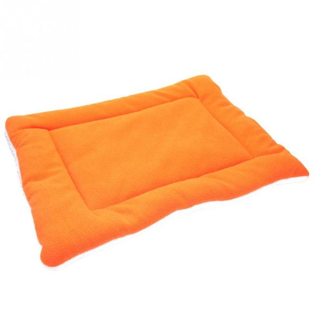 Winter Warm Soft  Kennel Pet Dog Mat Cushion For Cat Dog Bed Mat 5 Colors