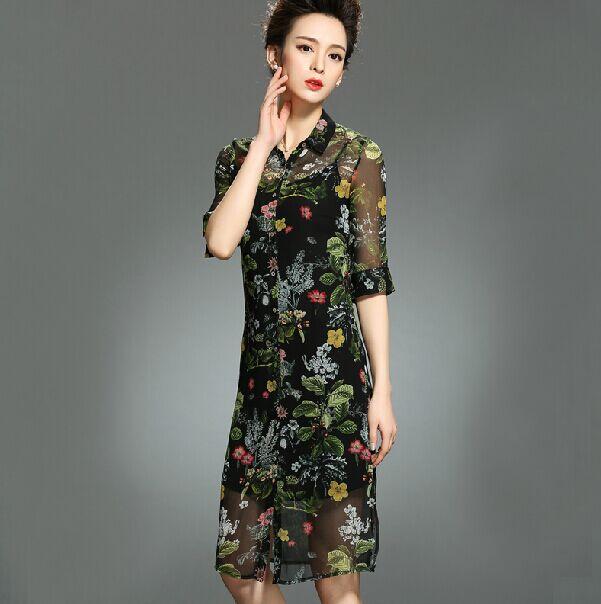 Шеле женские платья