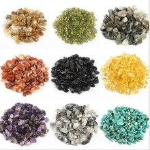 Multicolor Aquarium Decorative Stones Vase Garden Glass Crystals Gemstone Stone Decoration Fish tank Accessories Pet Supplies