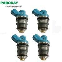 4pieces X New Fuel Injector For Toyota Hilux RZN14 Hiace RZH1 Dyna RZY2 1RZE 23250 75070