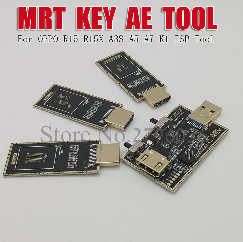 MRT Dongle AE TOOL  AETOOL EMMC Programmer For OPPO R15 R15X A5 A7 K1 ISP Tool