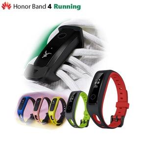 Image 1 - Originale Huawei Honor Fascia 4 Corsa E Jogging Versione Intelligente Wristband Scarpe Fibbia Land Impatto Sonno Snap Monitor