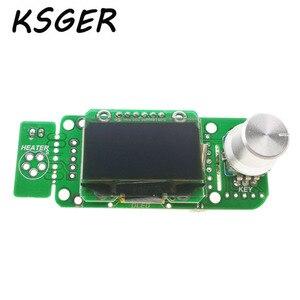 Image 3 - KSGER soldador eléctrico V2.01 STM32 OLED T12, Controlador de estación de soldadura de temperatura, T12 K T12 JL02 punta de pistola para soldar