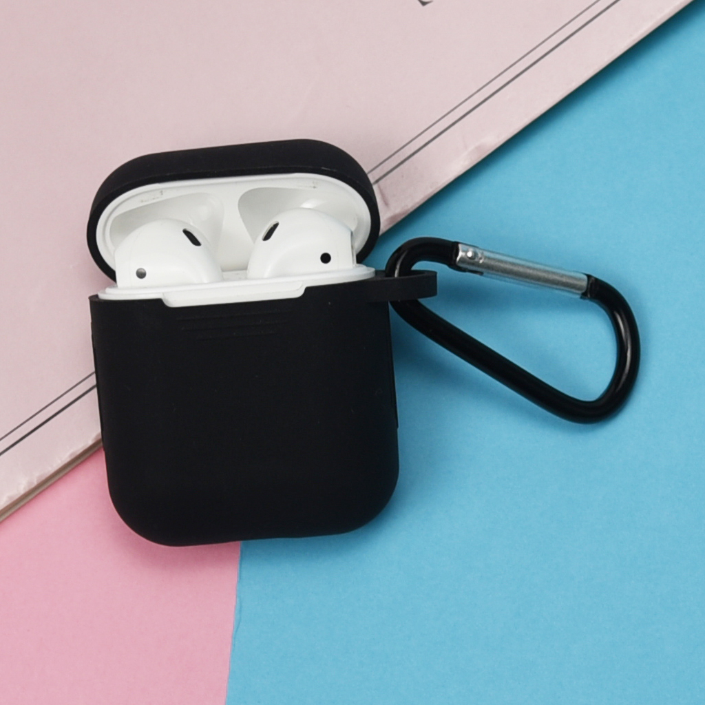 MagiDeal Silicone Shockproof Cover Skin For Apple AirPod Charging Box Blue