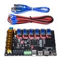 BIQU BIGTREETECH SKR Pro V1.1 32 Bit placa base WIFI con TMC2209 TMC2208 UART TMC2130 SPI conducir del MKS Gen L 3d piezas de la impresora